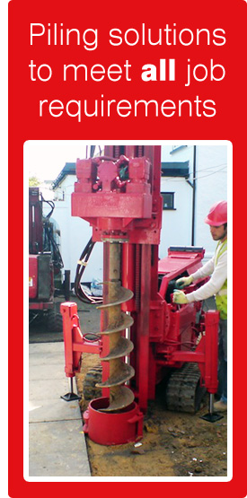 large piling rigs